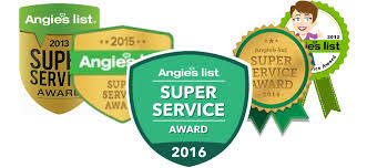 Five Years Of Angie's List Super Service Awards